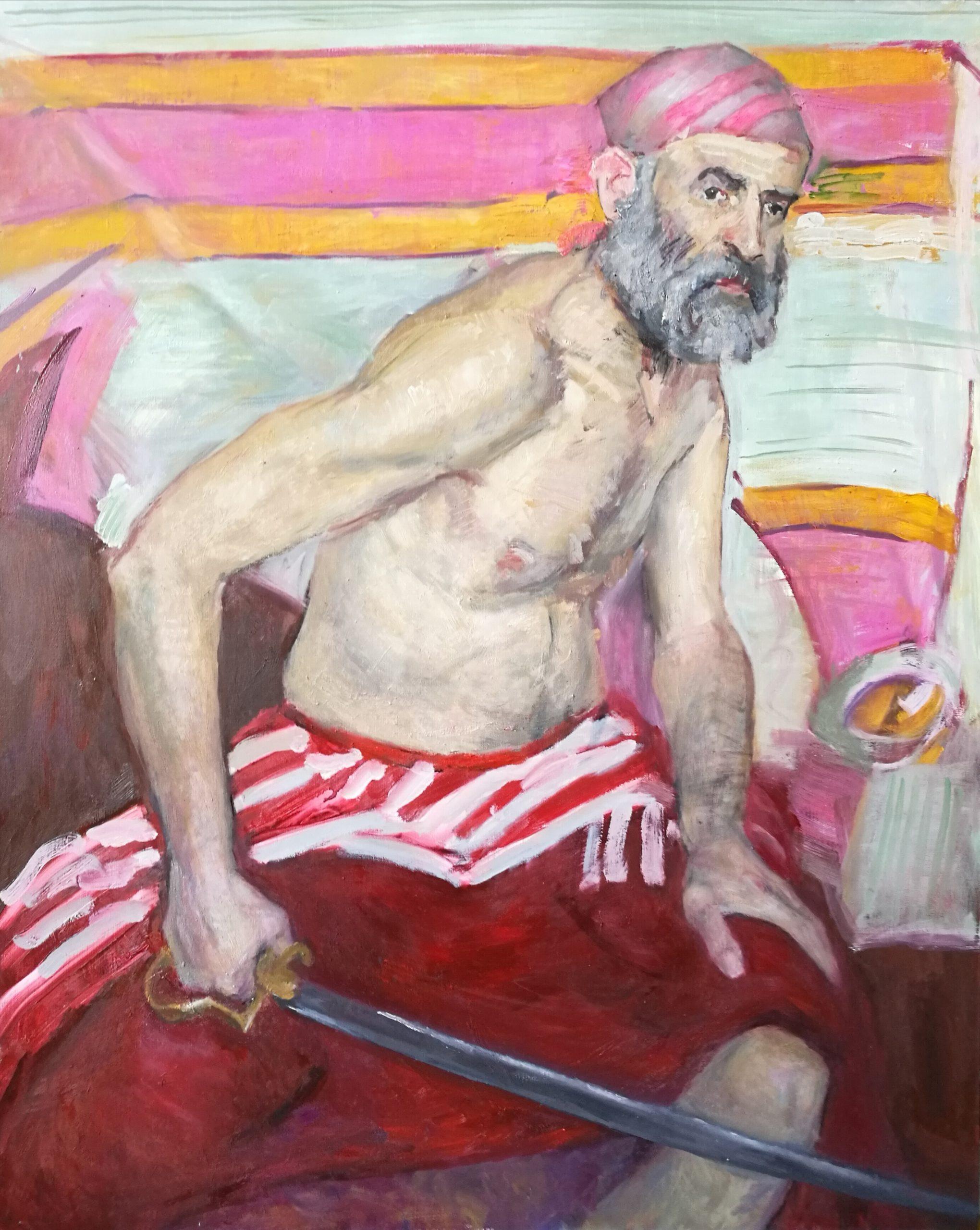 Muotokuvamaalaus Igor