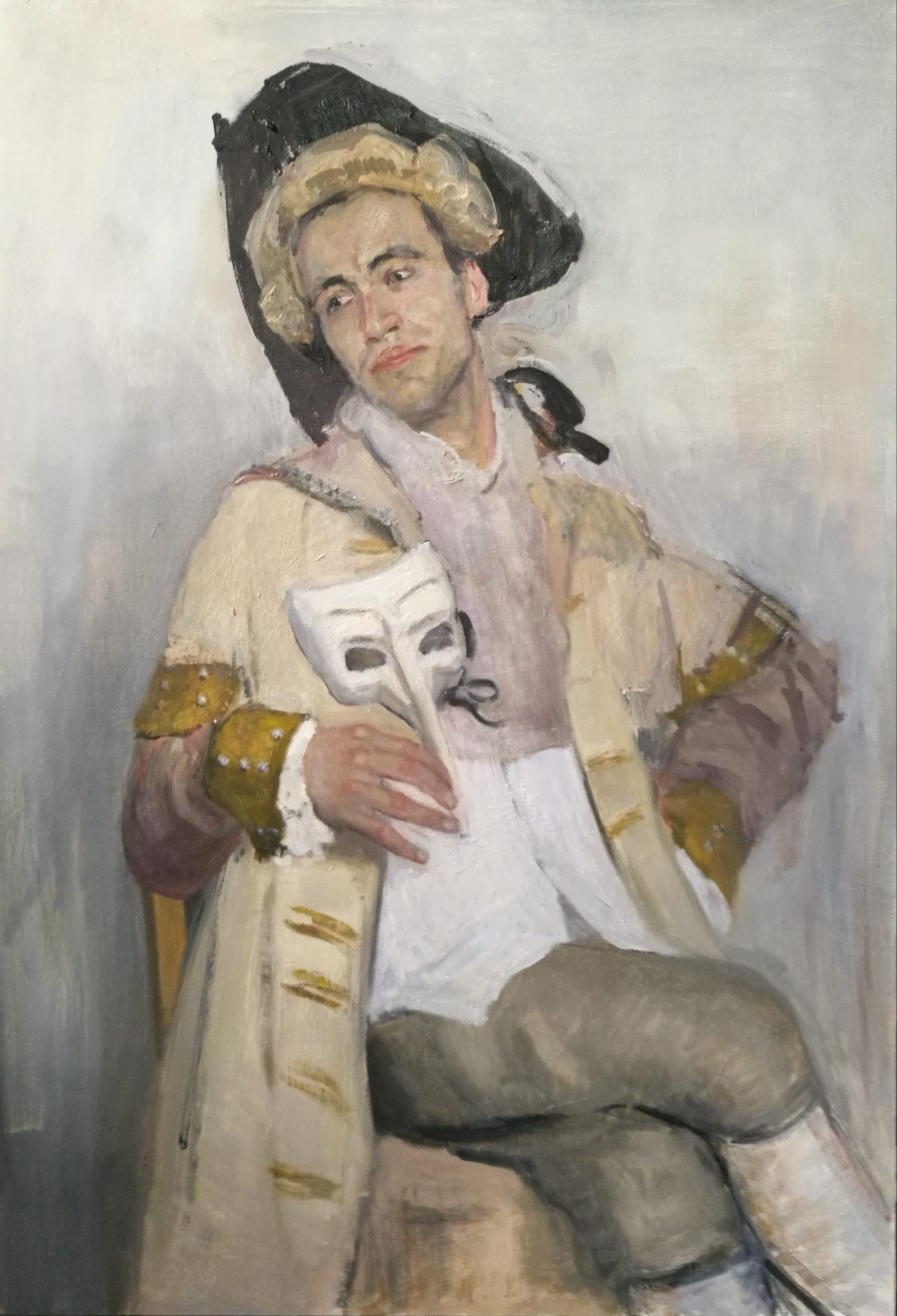 Muotokuvamaalaus Andre