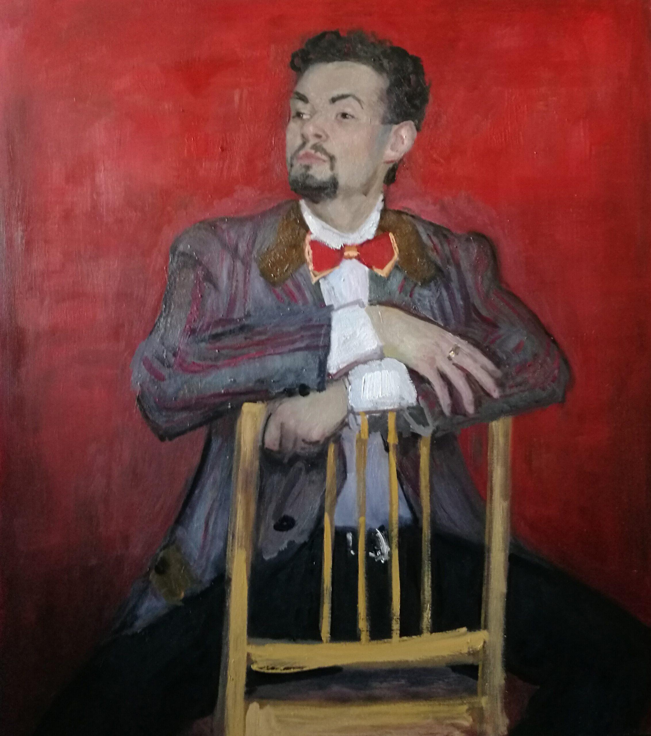 Muotokuvamaalaus Nikita