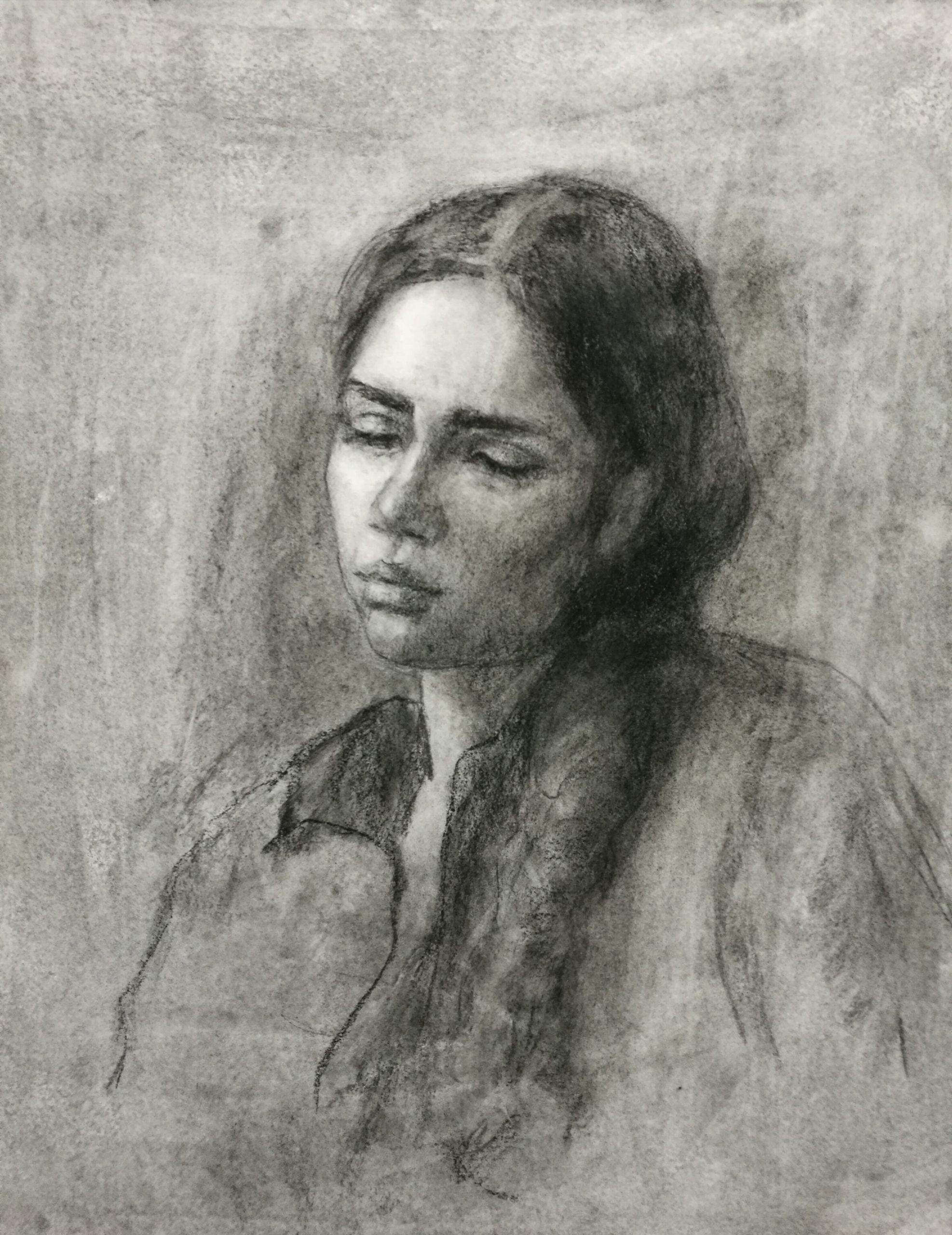 Taidemaalari, piirustus