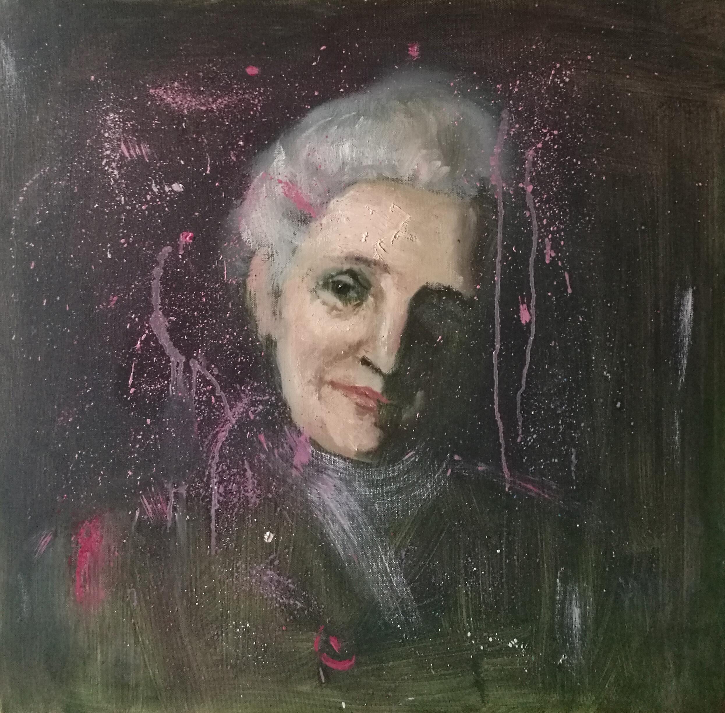 Oil painting, art