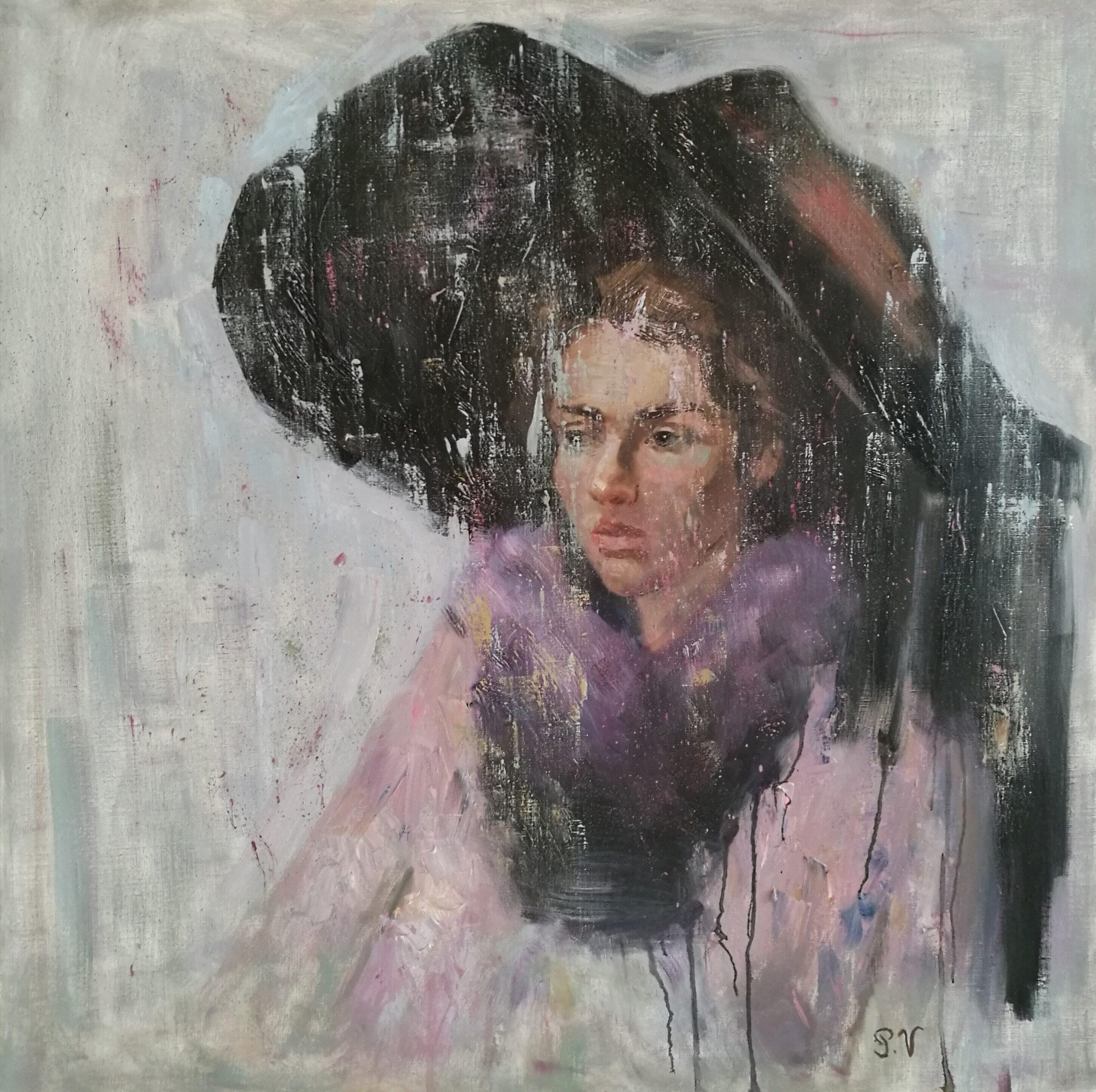 Oil painting Anita