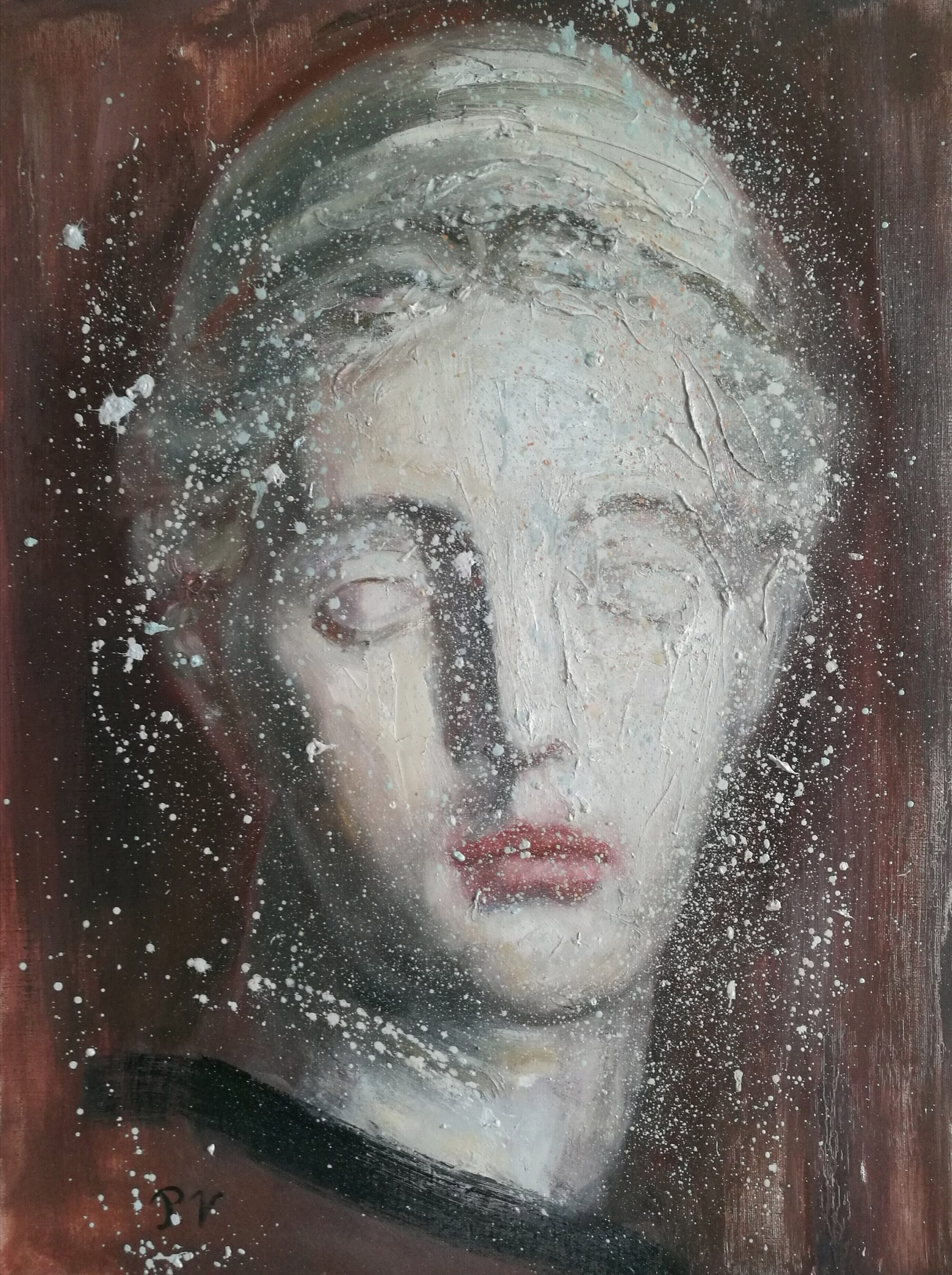 Oil painting Diana